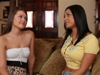 Adrianna Luna and  Abby Cross in