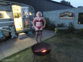 Barby In The Caravan
