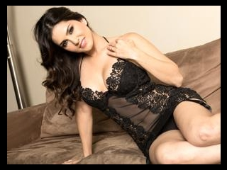 Sunny\'s Couch Strip Tease