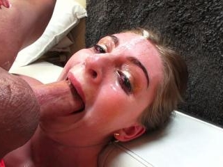 Maya Kendrick Soaked In Spit And Facialized