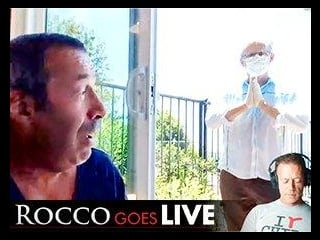 Rocco Goes LIVE with John Stagliano!