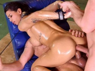 Dark-Eyed Damsel Chloe Gets Fucked Like the Dog Sh