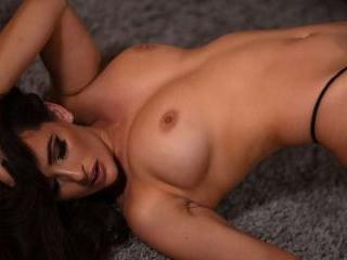 ANASTASIA IS SEXY BLACK LINGERIE