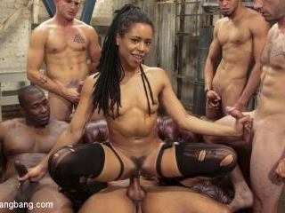 Debauchery: Cock Hungry Beauty Kira Noir Gang Bang
