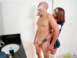 A Close Shave With My Stepdaughter