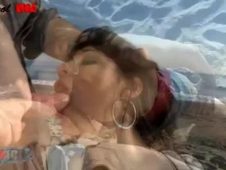 Sex at the beach - with Carol Vega!