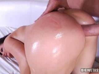 Caroline Pierce gets her pierced pussy banged hard