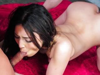 cock sucking, Sera Ichijo, enjoys harsh threesome