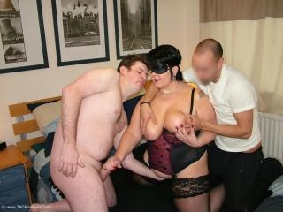 Kinky Stocking Clad Sex With Sam Pt2