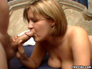 Claire James busty blonde belle getting nasty with
