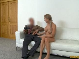Perfect Tits Blonde Gets Creampied