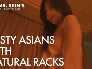 Busty Asian Celebs With Natural Racks