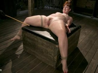 Pain Slut in Extreme Bondage Suffers from Brutal T