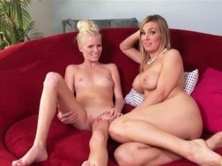 Tanya Tate and  Elaina Raye in