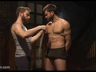 Abel Archer: Bound and Cums w/o Even Touching His