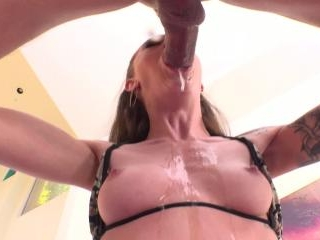 Anal Creampie for Skinny Teen