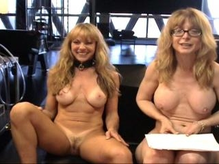Two mature women : Nina Hartley and Shayla Laveaux