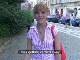 She Was Wearing No Underwear!