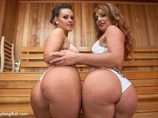 Sauna Babes and Freaky Enemas