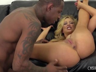 Cherie DeVille Fucking Big Black Cock LIVE