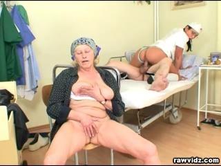 Old Couple Nurse 3somes