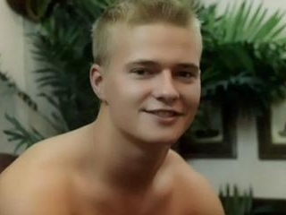 Cute Blonde Twink Shows His Bod