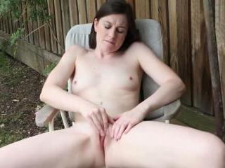 Taliah Mac Outdoors Orgasm