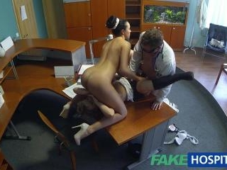 Threesomes Are New For My Nurse!