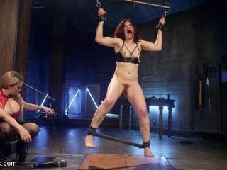 Lesbian Porn Crush: Predicament bondage, fisting &