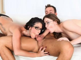 3-way energetic fun with Dava, Jay and Chad