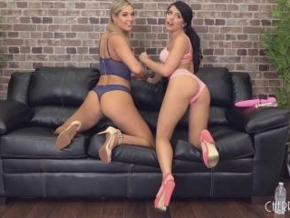 Tight Tanned Babes Adriana Chechik and Val Dodds C