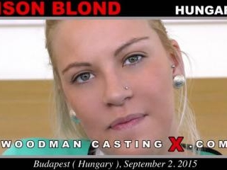 Alison Blond casting