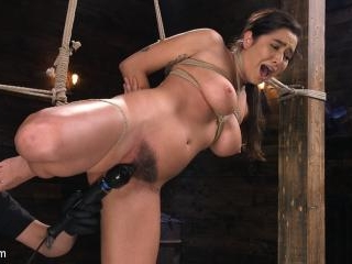 Submissive Big Tits in Brutal Bondage and Sufferin