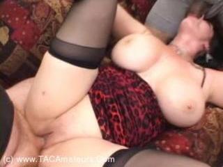 Annies 3-Way Creampie fuck 3