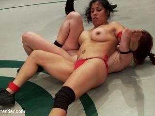 Welter Weight Semi-final match La Diabla vs The An