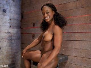 Kelli Provocateur - Ebony Body Builder - Merciless