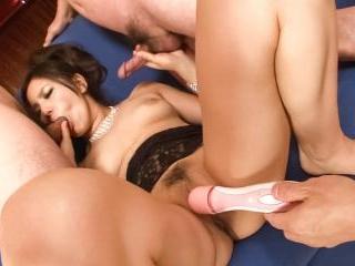 Kanade Otowa is stripped naked her big tits hangin