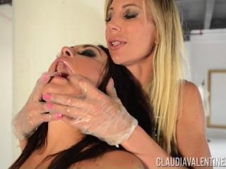 Ass Training with Claudia Valentine and Puma Swede