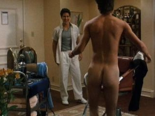 Young Johnny Depp strips down to boxers to meet a