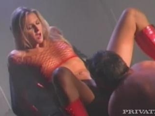 Ashley in Red booted whore