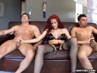 Mature redhead still has what it takes