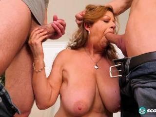 Brenda gets DP\'d in her second scene ever!
