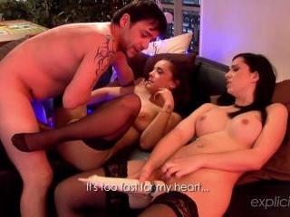 Angell Summers Liza del Sierra  : Improvised anal