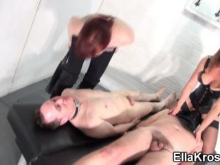 Double Nipple Torture and Whipping