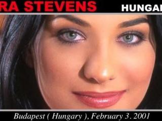 Lara Stevens - Casting X 55 casting