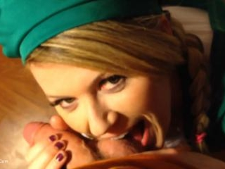 Girl Scout Gags Up & Is Throated Hard Pt2