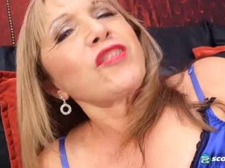 Luna Azul in Two Young, Hard Cocks For 63-year-ol