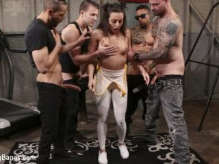 Whitney Wright Gets Help Stretching Her Holes