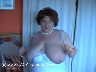 White Teddy Stockings & A Vibe 2