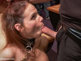 Dreamy MILF behaves herself like a perfect sub sho